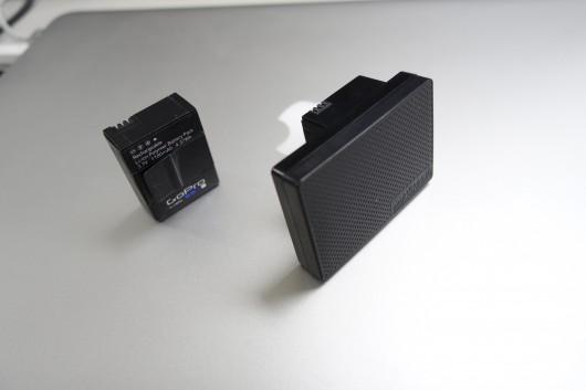 GoProのバッテリー強化_比較2